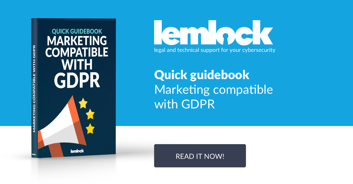 Lemlock ebook. Quick guidebook: Marketing compatible with GDPR