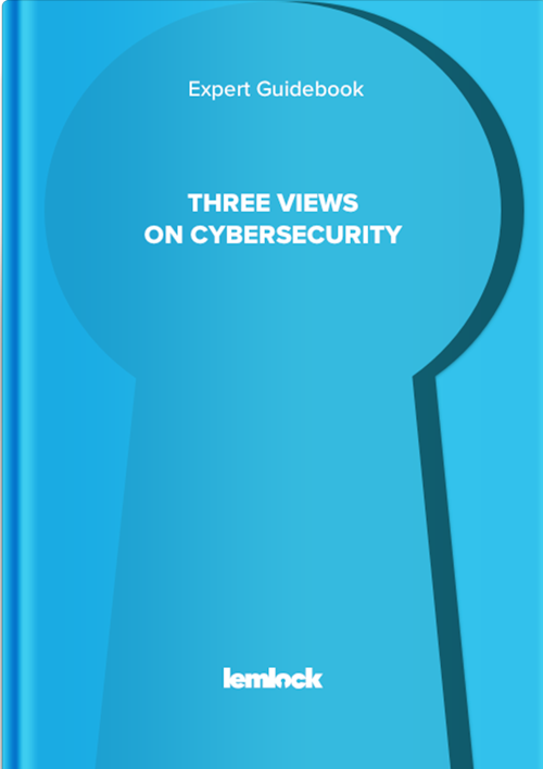 Lemlock ebook. Expert Guidebook: Three views on cybersecurity